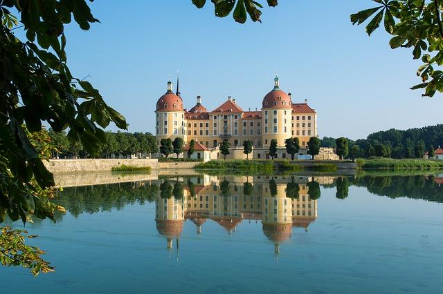 castle moritzburg drážďany