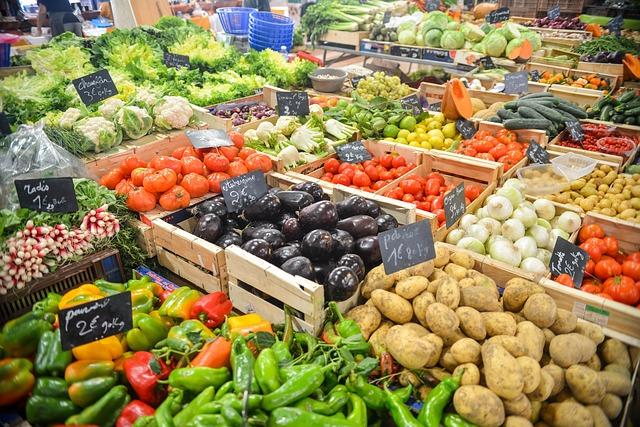 potraviny v obchodech